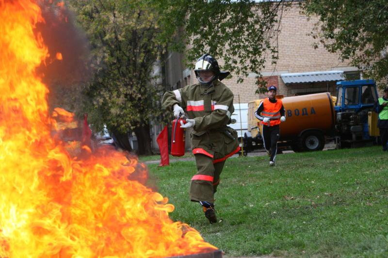 Жители новых округов реже других москвичей обращались в пожарную службу в 2015 году