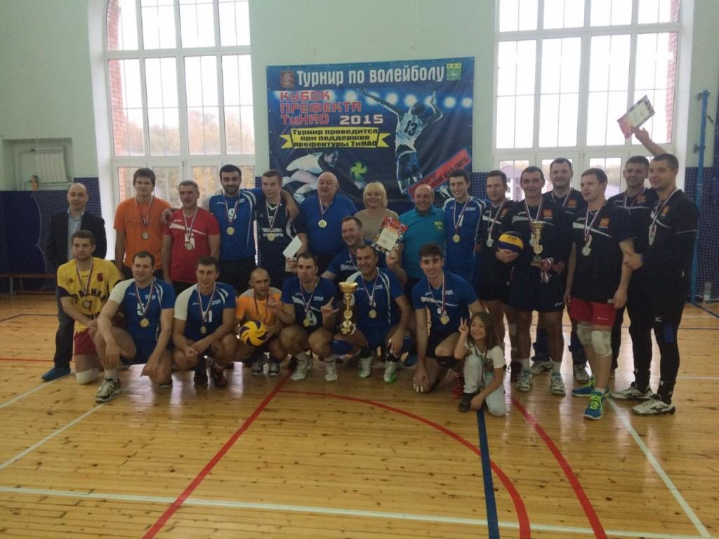 Сосенское выиграло кубок префекта Новой Москвы по волейболу