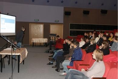В Доме Культуры «Звездный» прошла встреча юных парламентариев