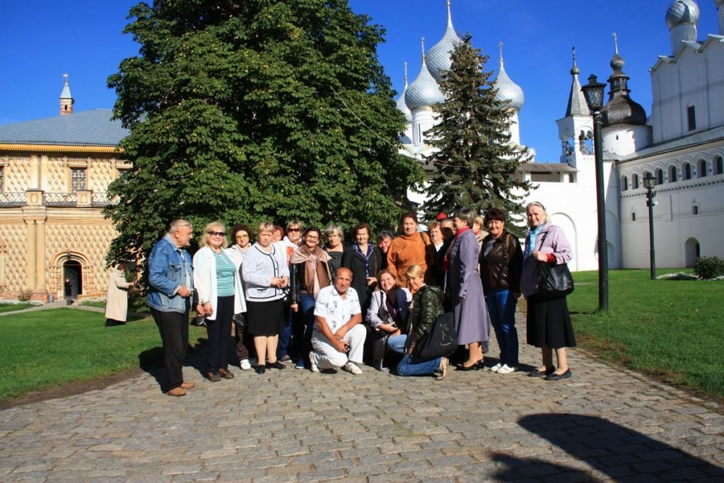 Совет ветеранов поселения Новофедоровское посетил «Усадьбу Кусково»