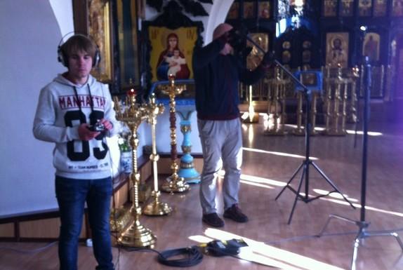 Передачу о Щаповском храме покажут по телевидению