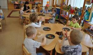 В детском саду Киевского прошел осенний утренник
