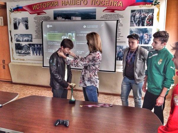 В Ватутинках прошел финал киберутрнира по футболу