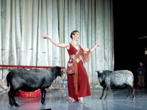 В Щербинку приехал цирк