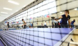 В Новой Москве состоялись отборочные соревнования по настольному теннису