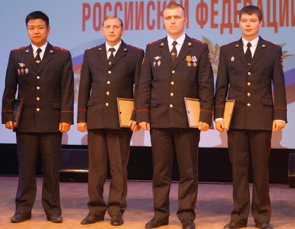В Новой Москве отметили День сотрудника полиции