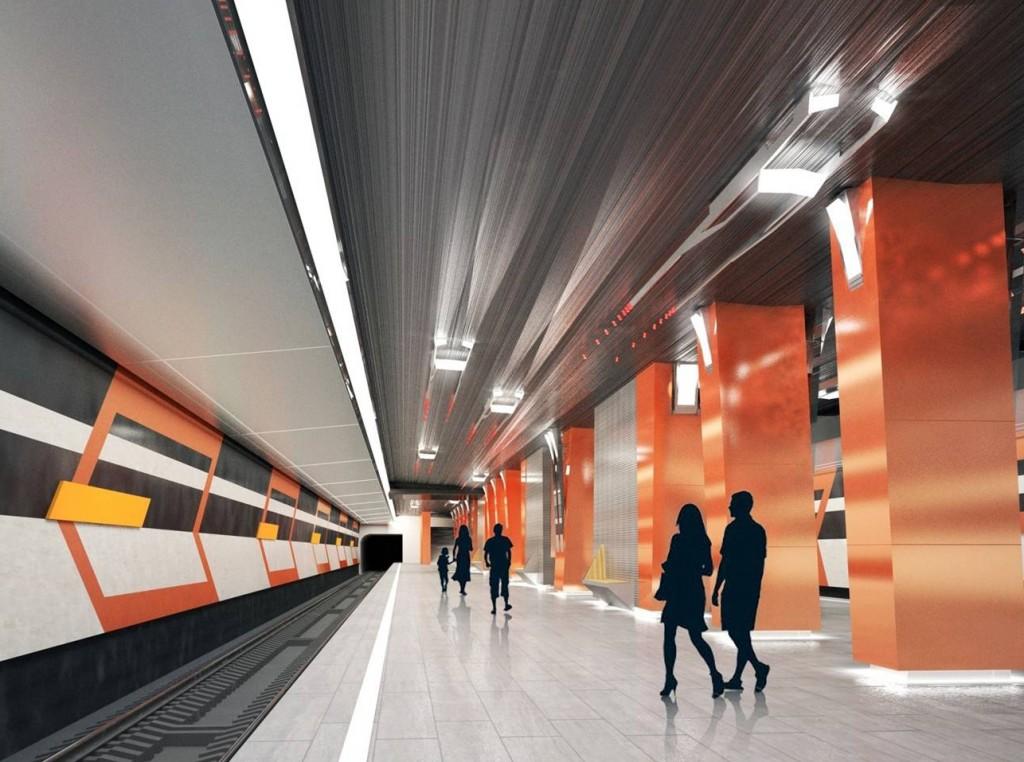 Архитекторы рассказали о дизайне проектируемых станций метро