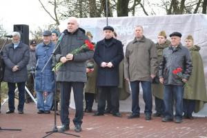 Казаки из Щаповского помянули героя Битвы за Москву
