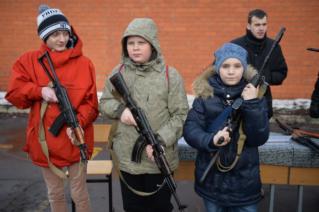 В Марушкинском прошел военно-патриотический слет