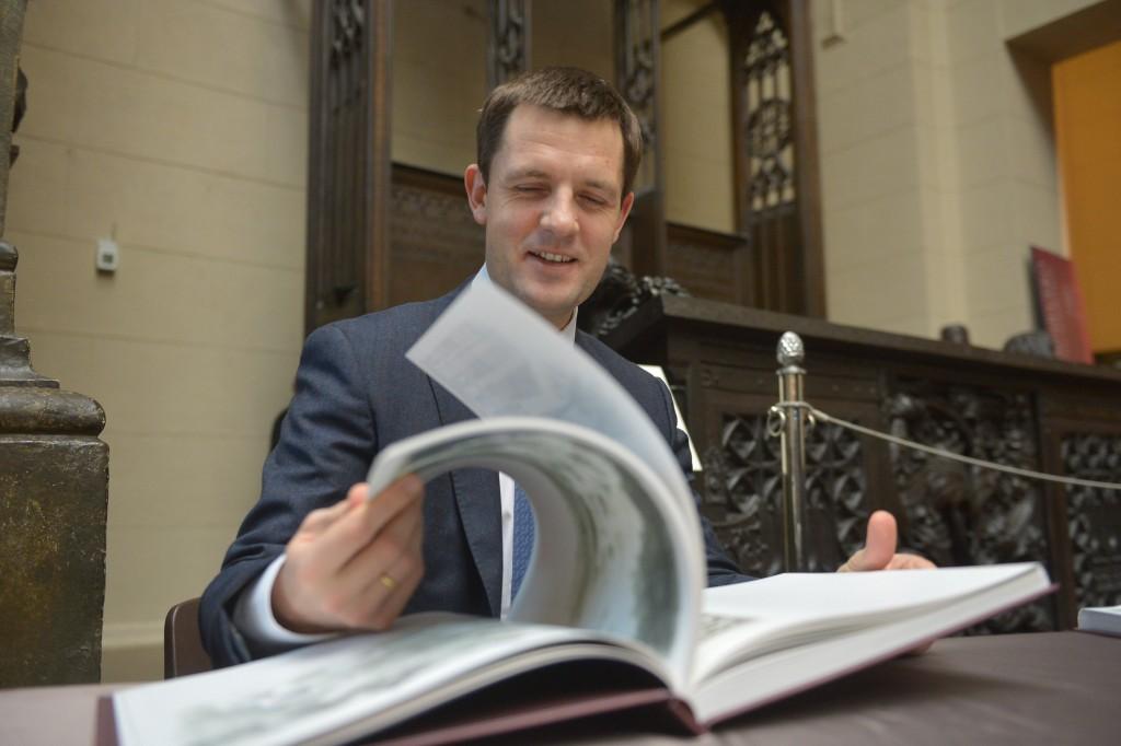 Главный архитектор Москвы представил свою книгу