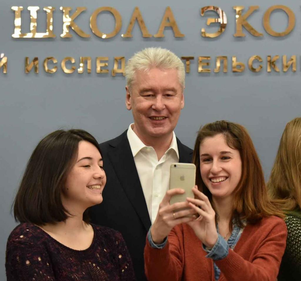 Мэр Москвы выступил перед студентами