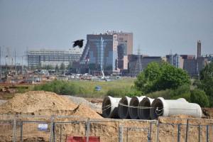 21 Мая 2015 Мэр Москвы Сергей Собянин осмотрел ход реконструкции Калужского шоссе