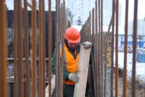 Собянин на строительстве эстакады