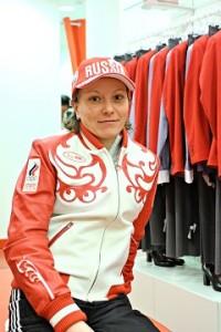 Лыжница Ирина Хазова
