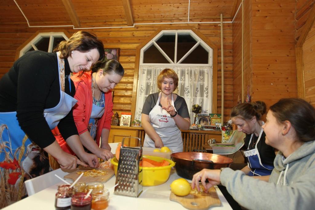 Варю варенье из моркови с мандаринами