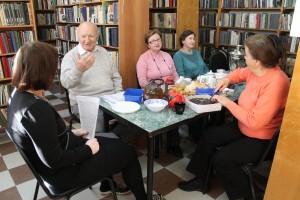 В Первомайском прошел литературный вечер «Время для труда»