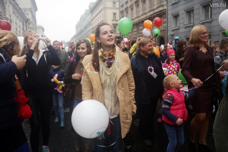 На шествие «Мы едины!» пришли 85 тысяч человек