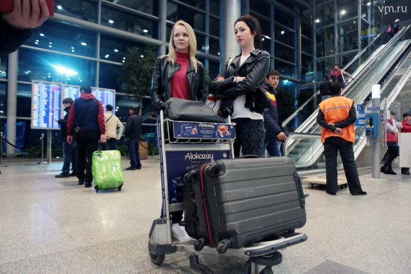 В Москву прибыл из Египта первый самолет с багажом российских туристов