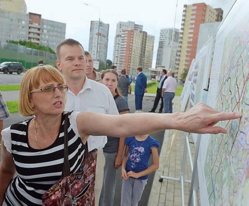 Активисты Молодежной палаты Кокошкино подготовили карту со сломанными уличными фонарями