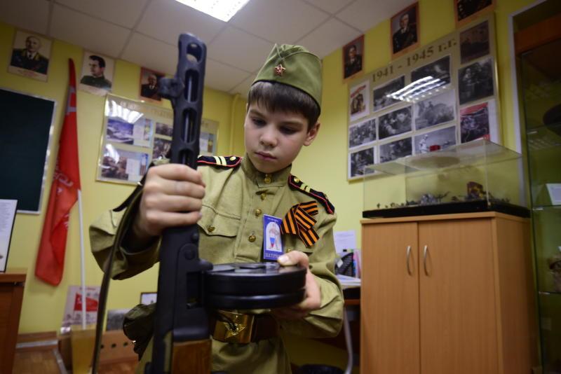 Щаповские школьники узнают о героях-фронтовиках