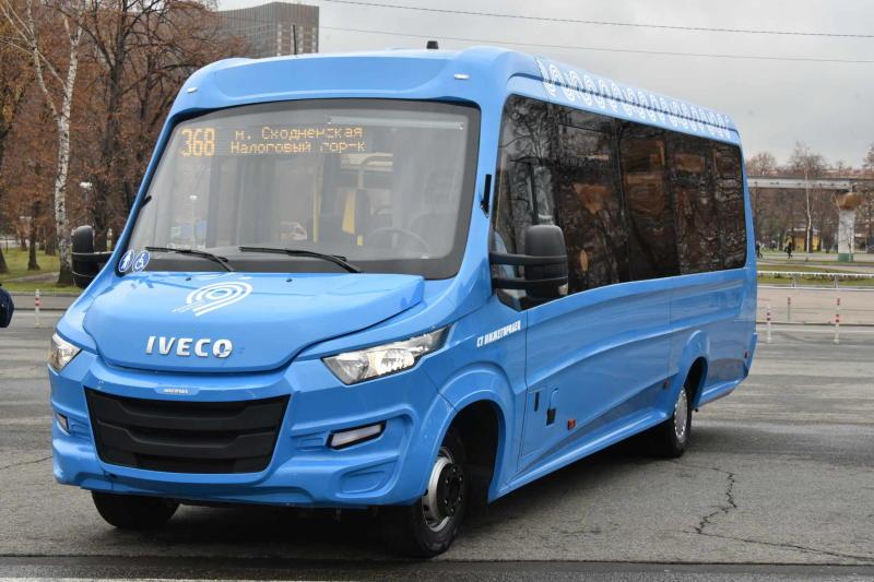 Мосгортранс: Все городские автобусы будут приспособлены для маломобильных пассажиров к 2018 г