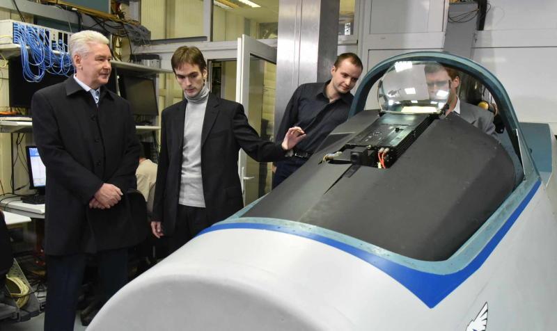 Собянин: Москва заинтересована в развитии авиастроительной отрасли города