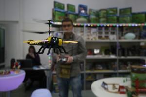 Выставка-ярмарка роботов и игрушек в Сокольниках.