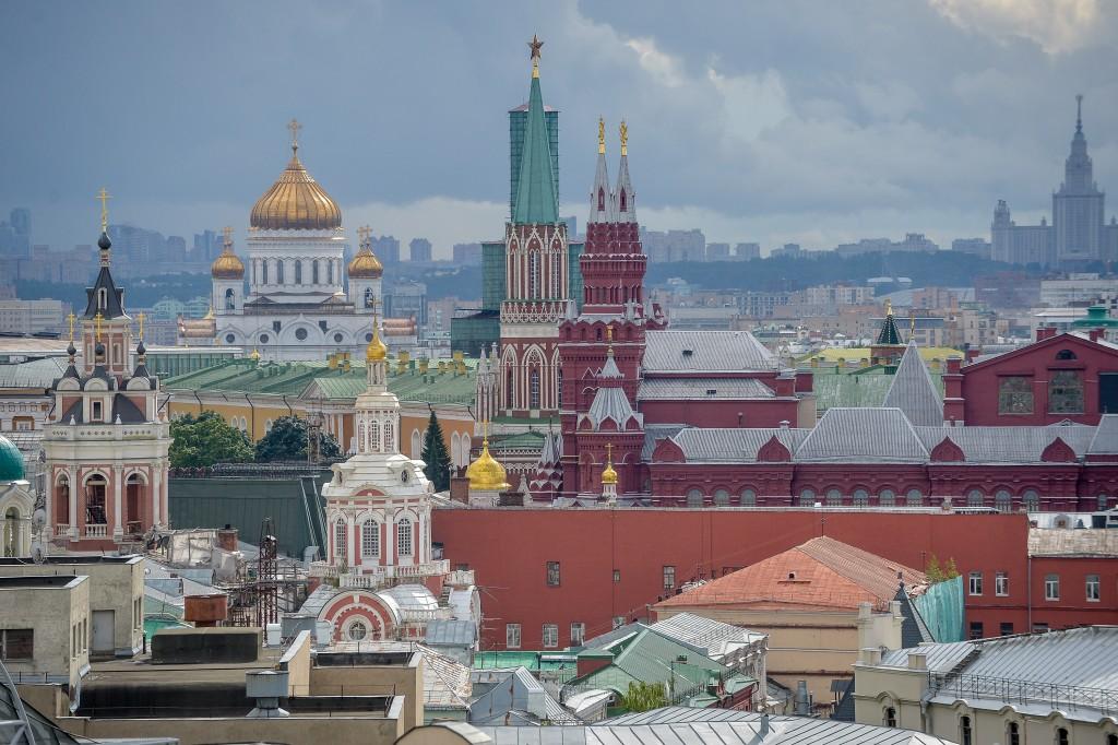 В Кремле демонтируют административный корпус
