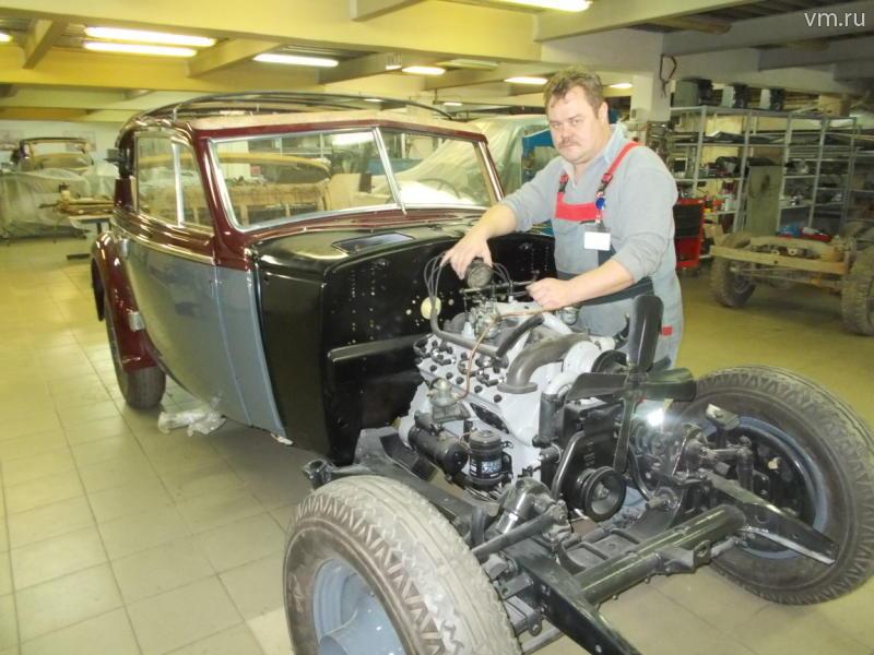 Любимый автомобиль маршала Ворошилова восстановили