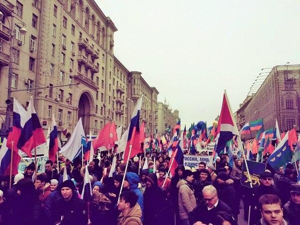 Молодежные палаты Новой Москвы приняли участие в праздничном шествии