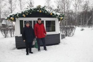 Аренда домиков в парке Сокольники