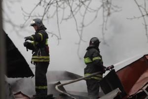 Представители администрации Новофедоровского успешно прошли пожарные учения