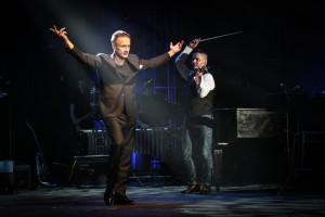 Олег Меньшиков впервые публично отметил свой день рождения - 55-летний юбилей в театре имени Еромоловой