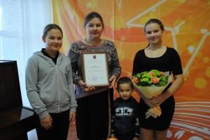 Жительницу Роговского признали «Лучшей мамой»
