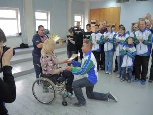 Маломобильные спортсмены Новой Москвы сыграли в дартс в Рязановском