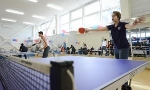 Теннисисты из Щербинки заняли четвертое место