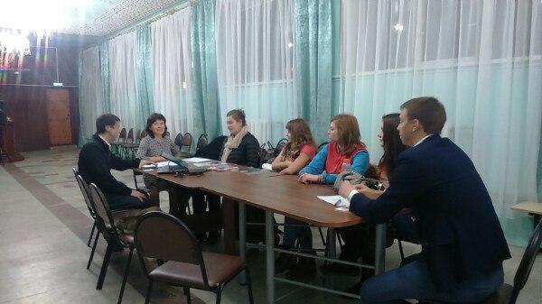 Глава поселения Щаповское дала советы молодым парламентариям