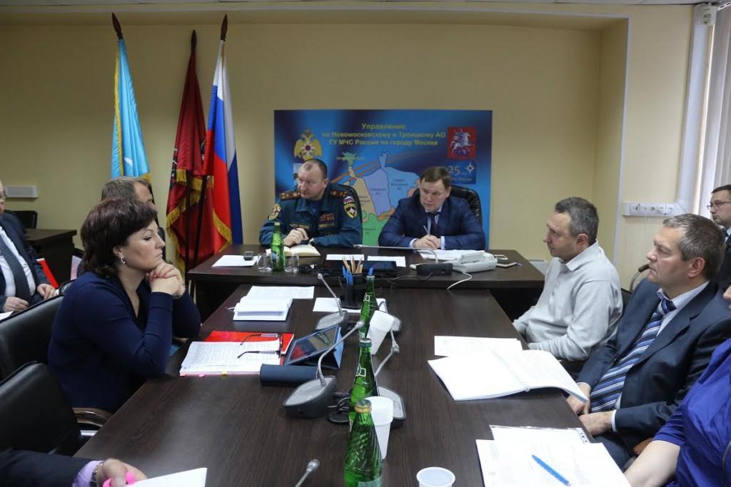 В Новой Москве стартовало командно-штабное учение спасателей