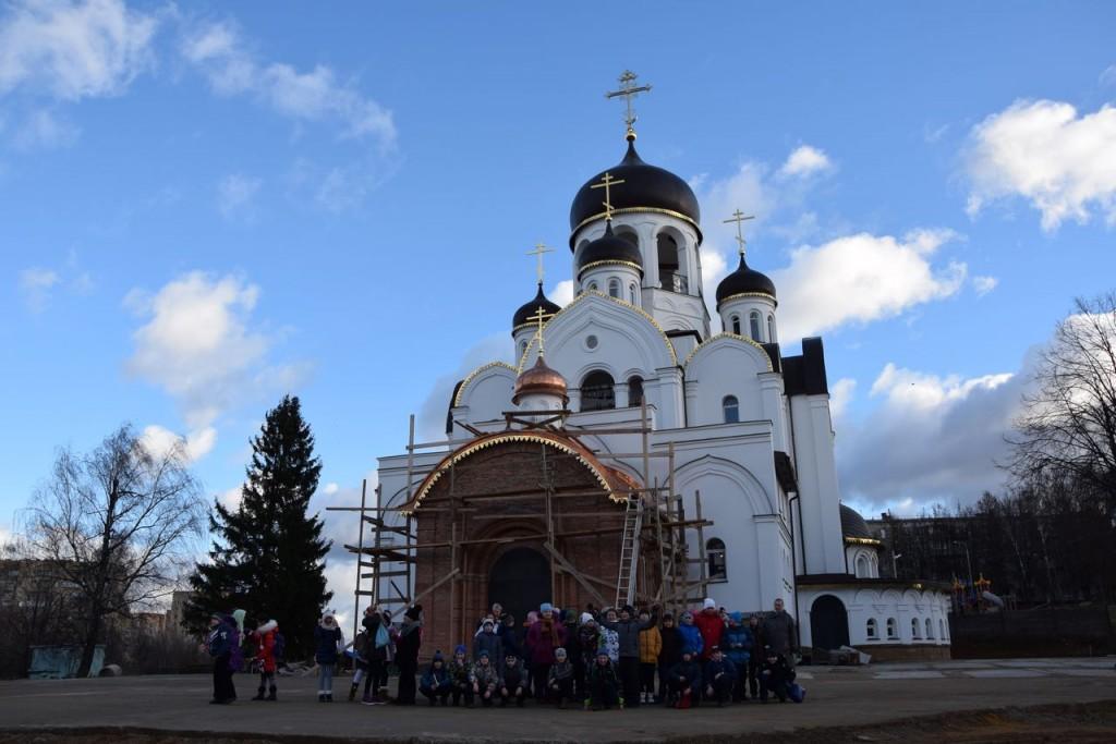 В Воскресной школе рассказали об архитектуре храма