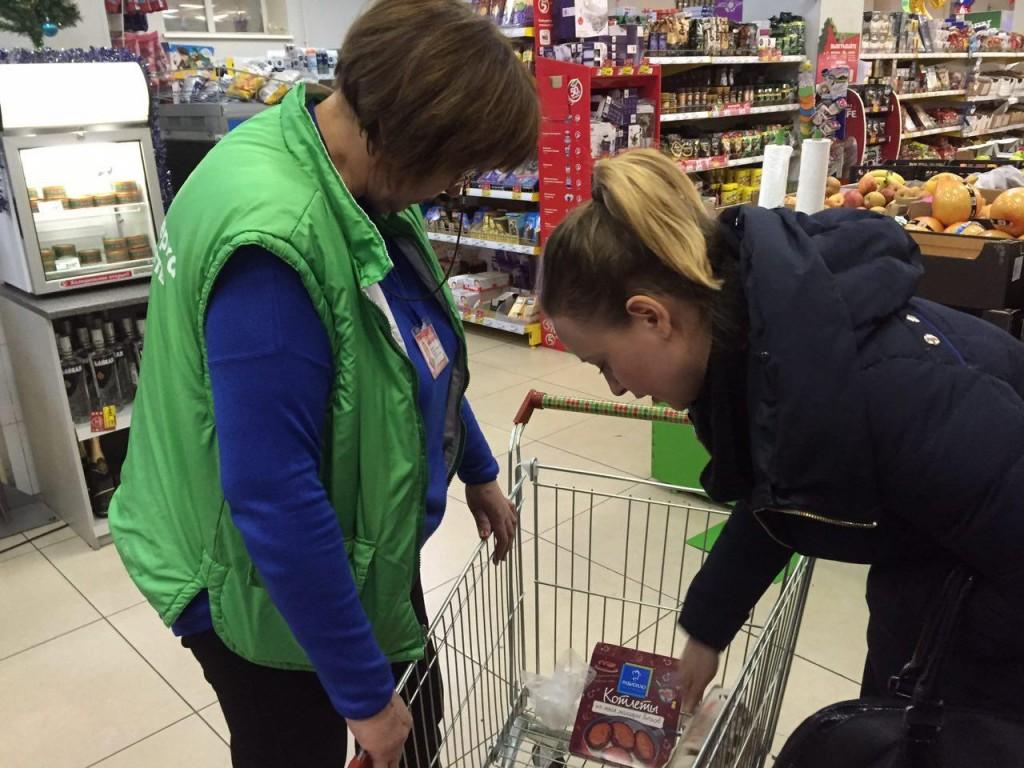 Молодежная палата Щербинки проверила срок годности продуктов