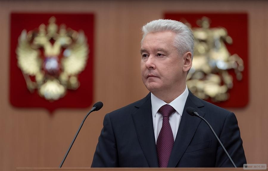 Мэр Москвы осмотрел новый терминал