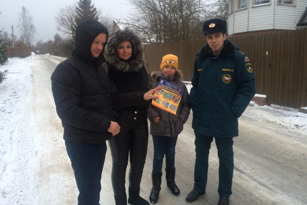 Спасатели и полицейские провели поквартирные обходы в Новой Москве