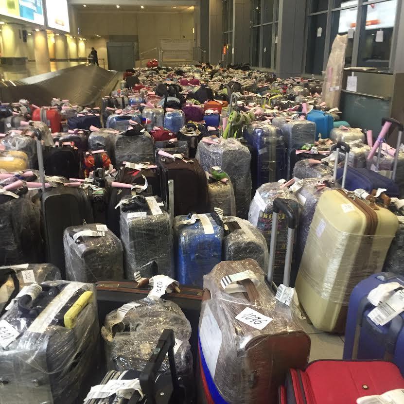 МЧС доставило весь багаж российских туристов из Египта