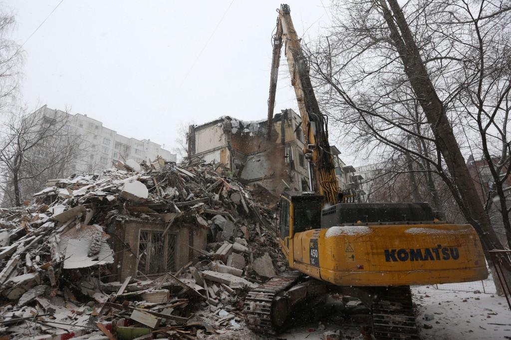 К концу года в Москве снесут еще 30 пятиэтажек