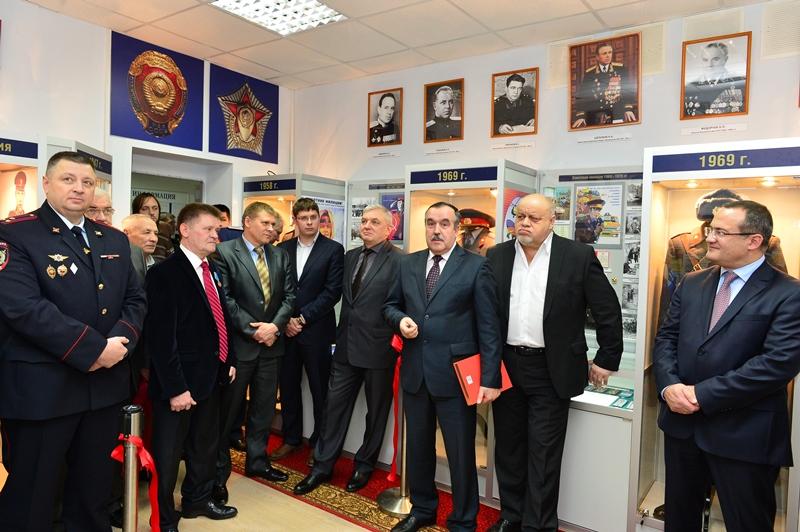 Музей истории органов внутренних дел открылся в Троицке