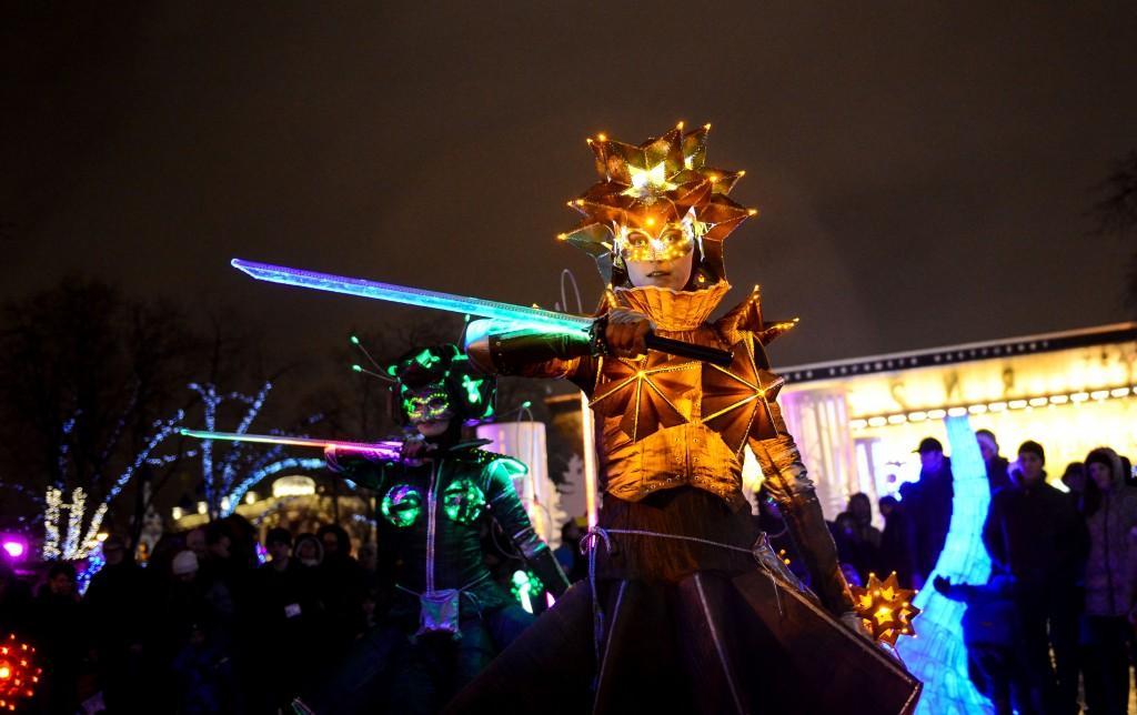 «Круг света» готовится в парке «Музеон»