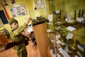 Школьникам покажут артефакты военных времен