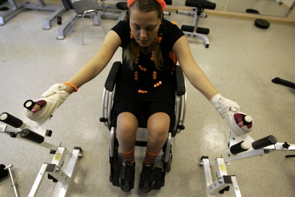 В Москве могут появиться фитнес-клубы для инвалидов