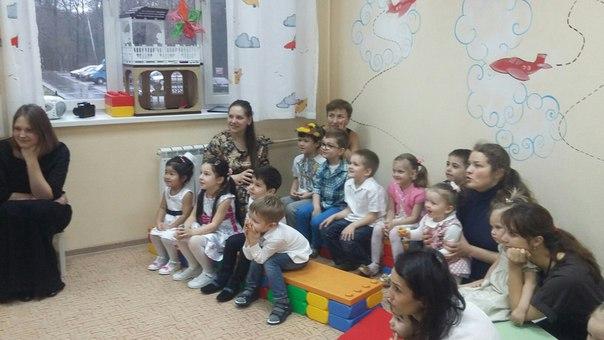 Детский сад отметил Новый год праздничным спектаклем