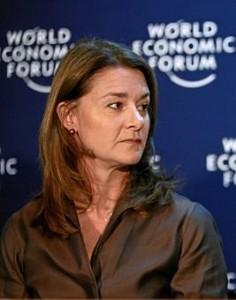 Мелинда Гейтс, фото с сайта Википедия